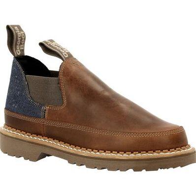 Georgia Boot Georgia Giant Women's Brown and Denim Romeo Shoe, , large