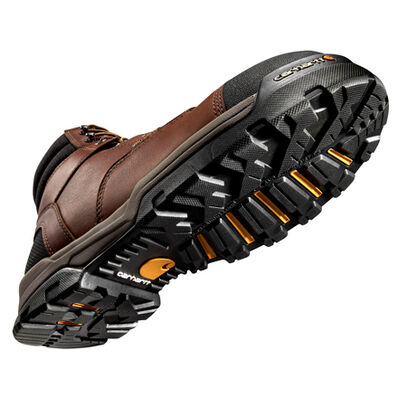 Carhartt Ground Force Men's Composite Toe Waterproof Electrical Hazard Brown Work Boot, , large