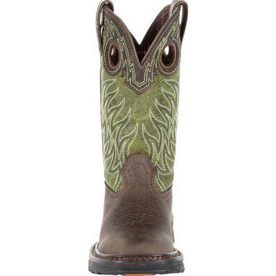 Lil' Durango® Maverick XP™ Big Kids Western Work Boot, , large
