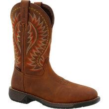 Rocky Rugged Trail Steel Toe Waterproof Western Boot