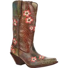 Crush™ by Durango® Women's Floral Embroidered Western Boot