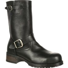 Mellow Walk Vanessa Women's Steel Toe CSA-Approved Puncture-Resistant Engineer Boot