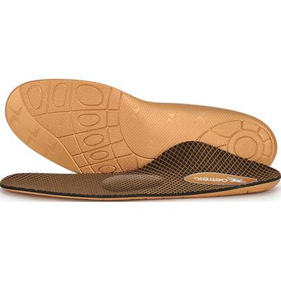Aetrex Women's Compete Flat/Low Arch Posted Metatarsal Support Orthotic for Athletic Shoes, , large