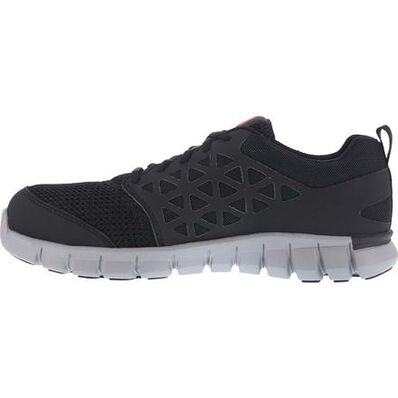 Reebok Sublite Cushion Work Men's Alloy Toe Electrical Hazard Work Athletic Shoe, , large