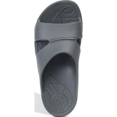 Aetrex Bali Men's Casual Charcoal Slide Slip-on Shoe, , large