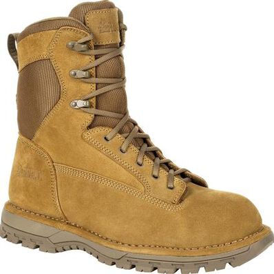 "Rocky Portland 8"" Side Zip Composite Toe Public Service Boot, , large"