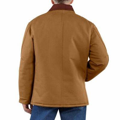 Carhartt Duck Traditional Arctic Quilt-Lined Coat, , large