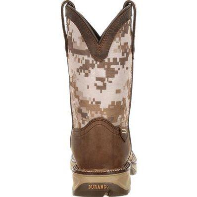 Lil' Rebel™ by Durango® Big Kids Desert Camo Western Boot, , large
