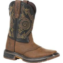 Georgia Boot Carbo-Tec LT Little Kids Pull-On Saddle Boot