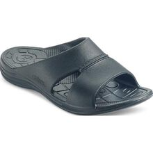 Aetrex Bali Men's Casual Black Slide Slip-on Shoe