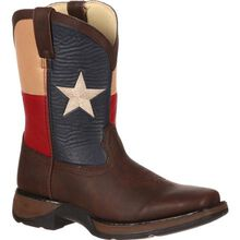 LIL' DURANGO® Kids' Texas Flag Western Boot
