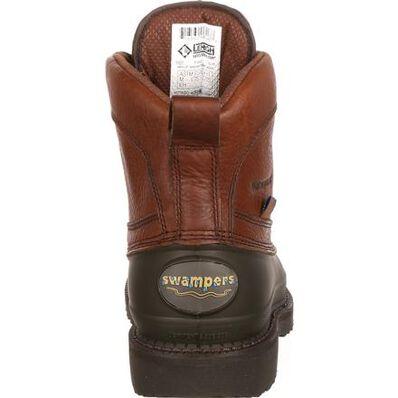 Lehigh Safety Shoes Swampers Unisex 6 inch Steel Toe Waterproof Work Boot, , large