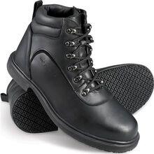 Genuine Grip Slip-Resistant Steel Toe Zipper Boot