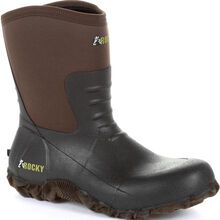 Rocky Core Chore Brown Rubber Outdoor Boot