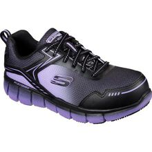 SKECHERS Work Telfin-Arterios Women's Alloy Toe Electrical Hazard Puncture-Resisting Athletic Work Shoe