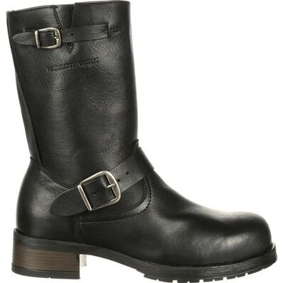 Mellow Walk Vanessa Women's Steel Toe CSA-Approved Puncture-Resistant Engineer Boot, , large