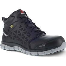 Reebok Sublite Cushion Work Women's Alloy Toe Internal Met Guard Electrical Hazard Mid Work Athletic Shoe