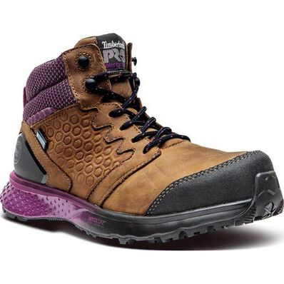 Timberland PRO Reaxion Women's Composite Toe Electrical Hazard Waterproof Work Hiker, , large