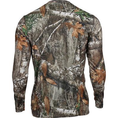 Rocky Camo Long-Sleeve Performance Tee Shirt, Realtree Edge, large
