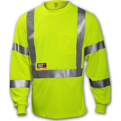 Tingley Job Sight FR Unisex Class 3 Fire-Resistant T-Shirt, , large