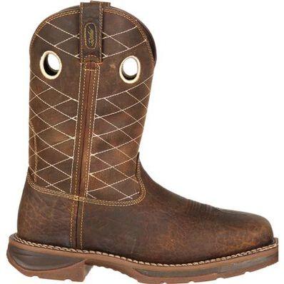 Workin' Rebel™ by Durango® Brown Composite Toe, , large