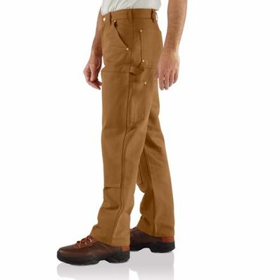 Carhartt Firm Duck Double-Front Work Dungaree, , large