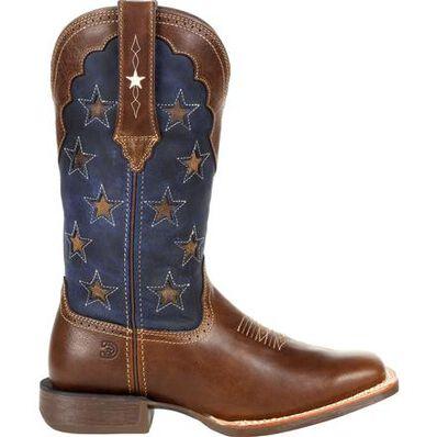 Durango® Lady Rebel Pro™ Women's Vintage Flag Western Boot, , large
