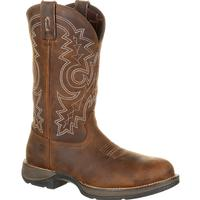 Rebel by Durango Steel Toe Waterproof Western Work Boot, , medium