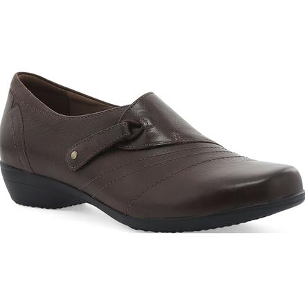 Dansko Franny Women's Leather Slip On Shoes, , large
