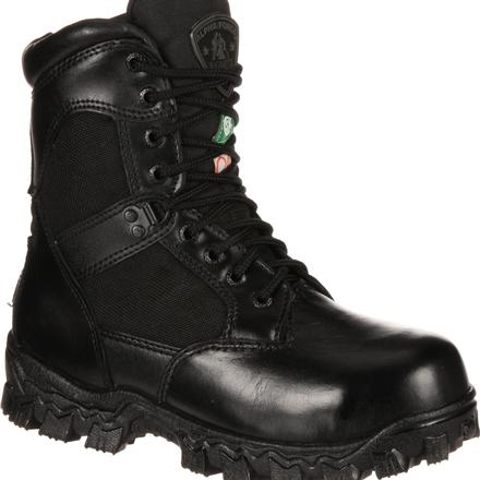 Rocky Alpha Force Composite Toe CSA Approved Puncture-Resistant Waterproof Duty Boot, , large