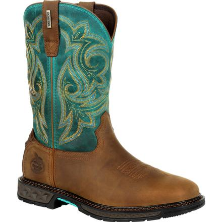 Georgia Boot Carbo-Tec LT Women's Waterproof Pull On Boot