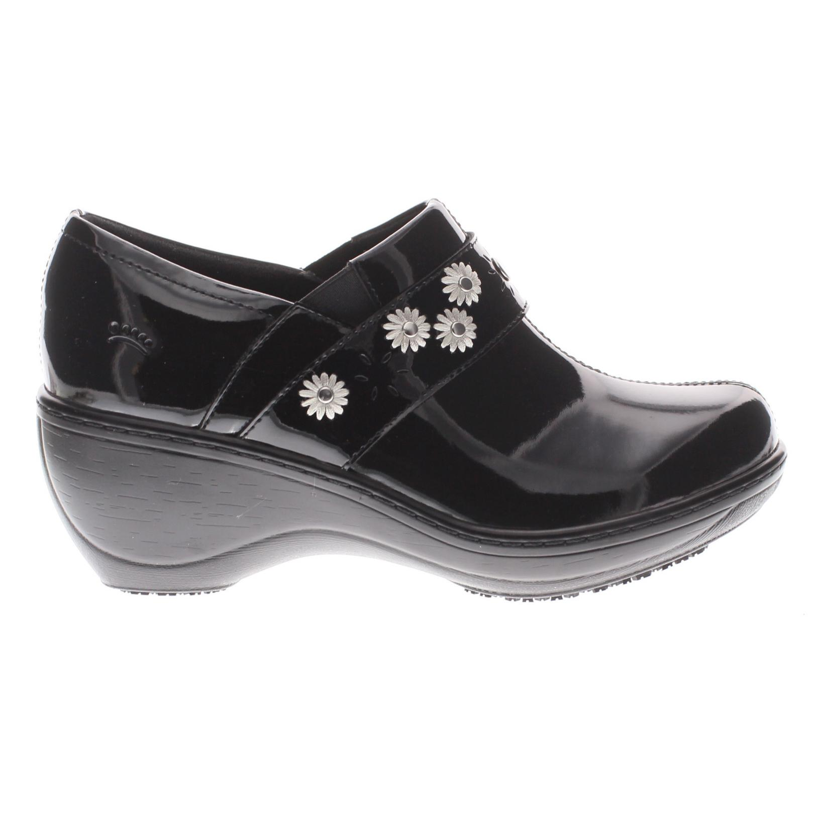 Black Spring Step Ladies Florenca Clog