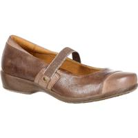 4EurSole Minuet Women's Brown Gore Mary Jane Shoe, , medium