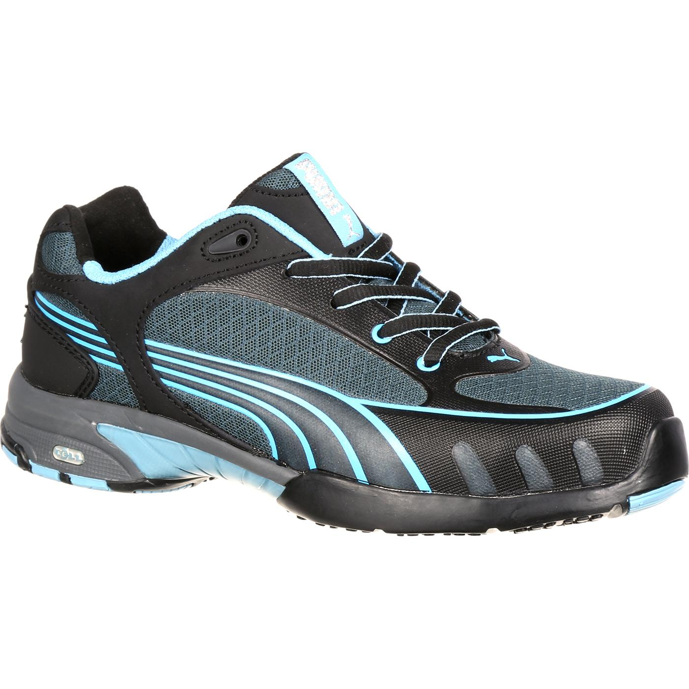 Puma Women's Steel Toe Athletic Work Shoe, #P642825