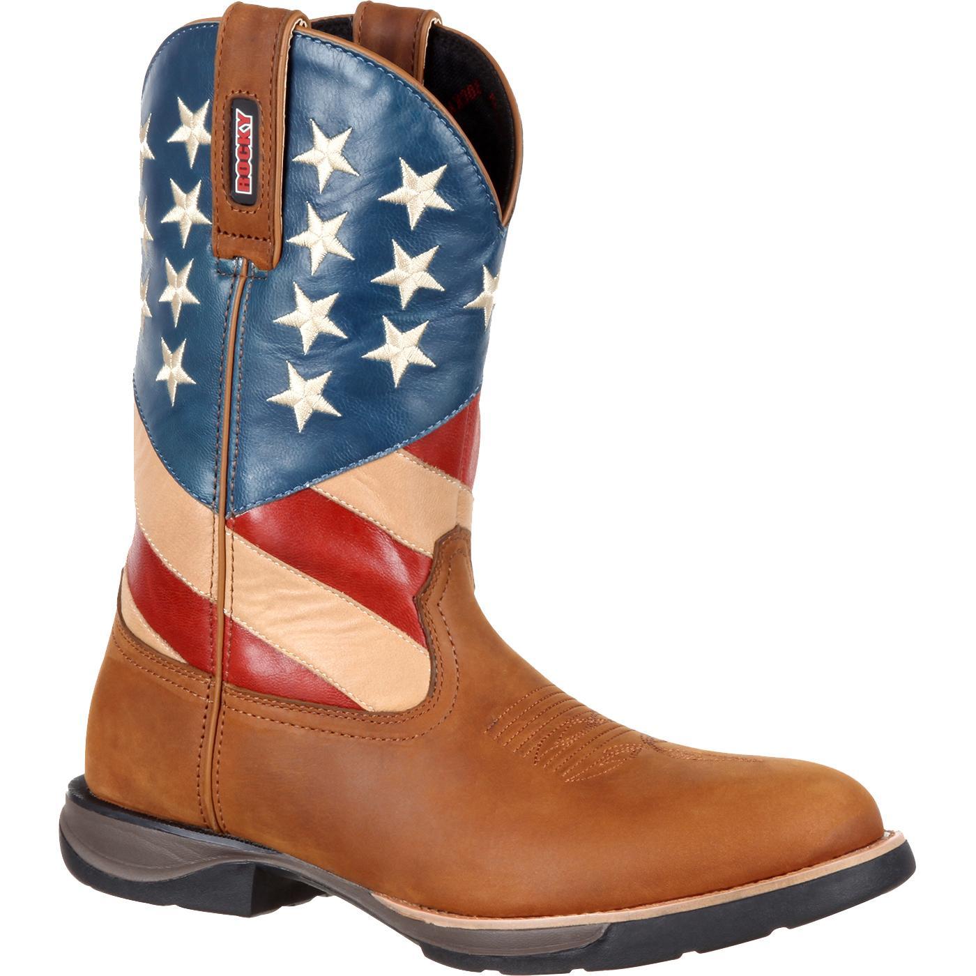 0d66d72f81c Rocky LT Western Flag Boot