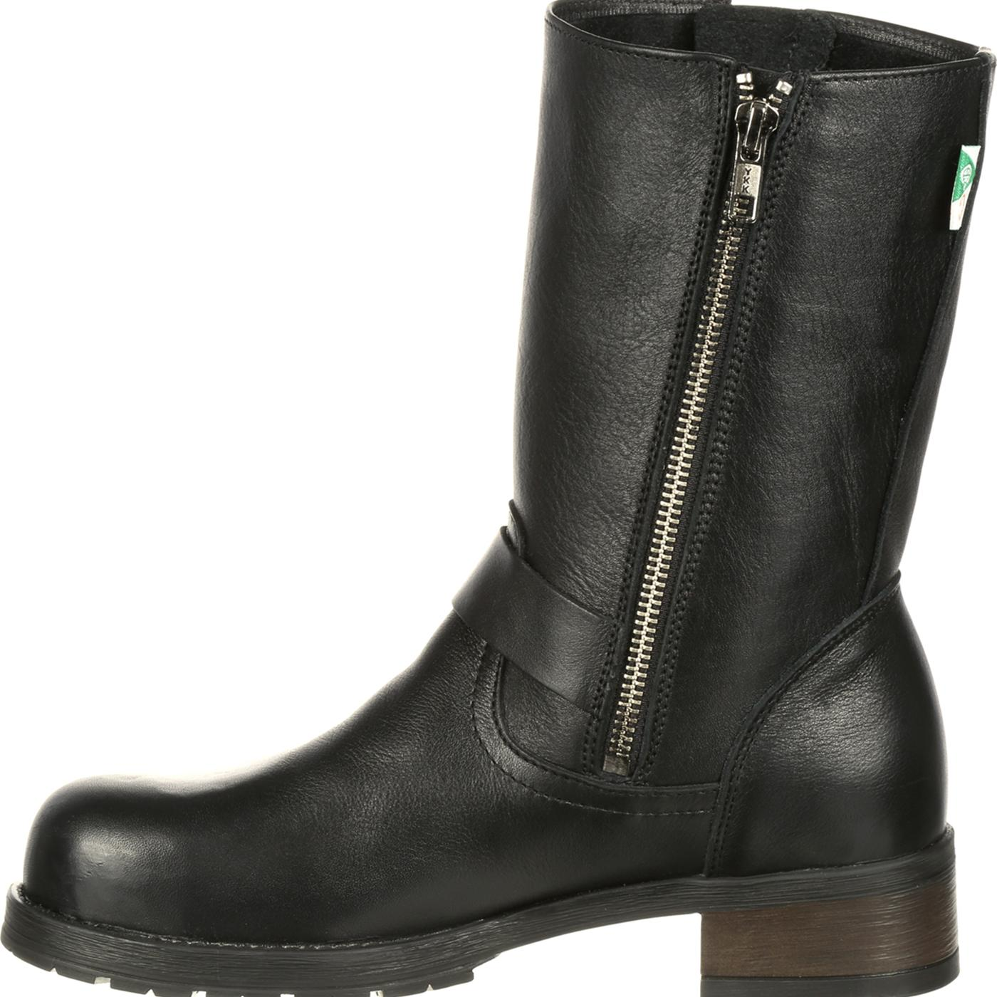 b29db3af847 Mellow Walk Vanessa Women's Steel Toe CSA-Approved Puncture-Resistant  Engineer Boot