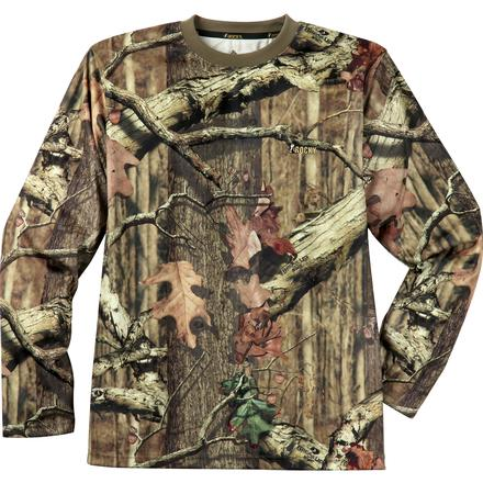 Rocky SilentHunter Long-Sleeve Performance Shirt, Mossy Oak Break Up Infinity, large