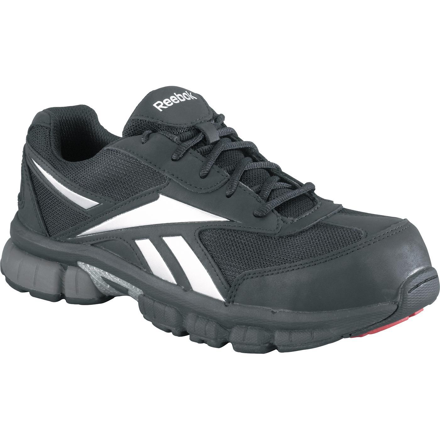 Menu0026#39;s Composite Toe Black Work Athletic Shoe Reebok Ketia