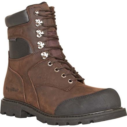 RefrigiWear Platinum Leather Composite Toe CSA-Approved Puncture-Resistant Waterproof 1000g Insulated Work Boot