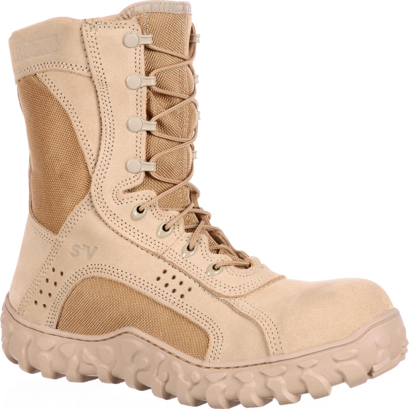Composite Toe Tactical Military Boot Rocky S2v Rkyc028