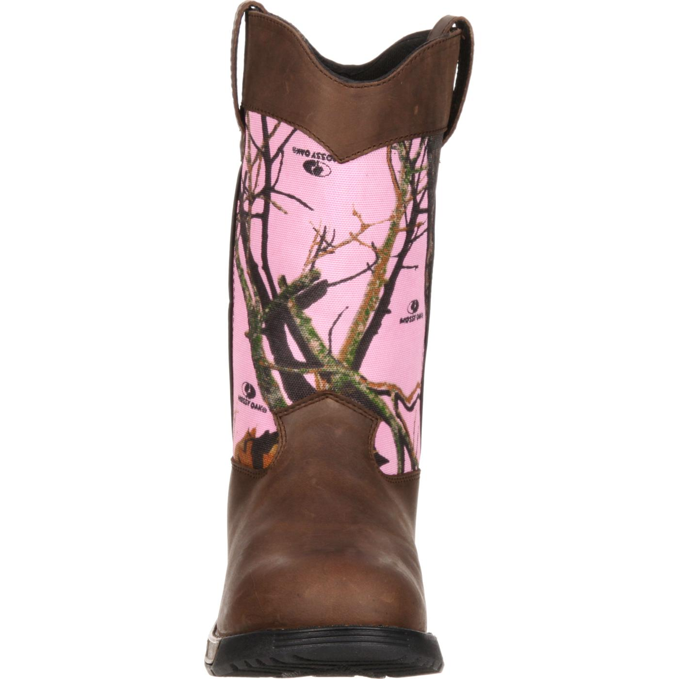 Women's Pink Camouflage Boot, Rocky Aztec style #RKYS133
