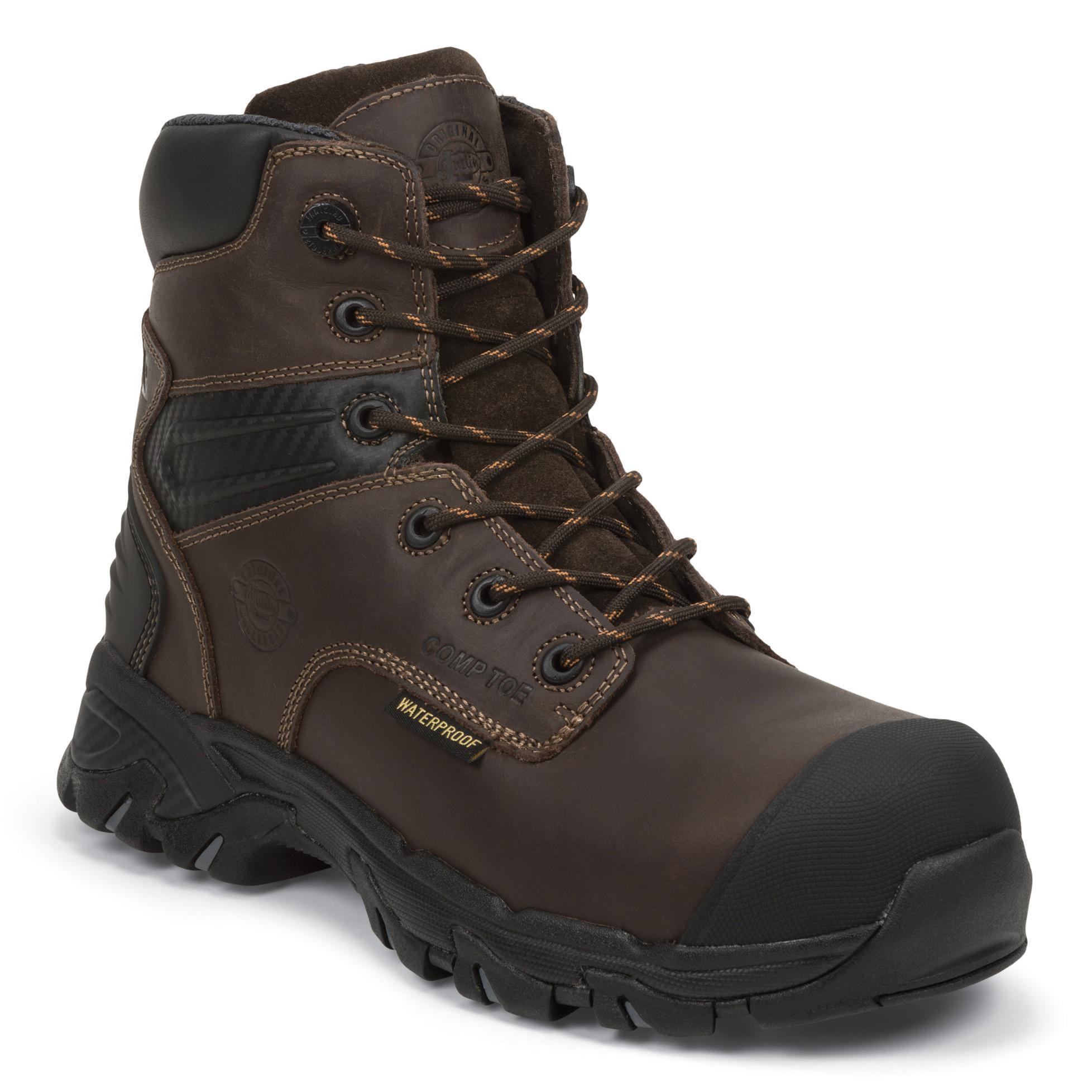 ccdbe978b02 Justin Work Work-Tek Composite Toe Waterproof 200g Insulated Work Boot