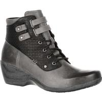 4EurSole Concerto Women's Black Waterproof Lace-Up Bootie, , medium