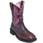 Ariat Women's Krista Pull-On Steel Toe Work Boot, , medium