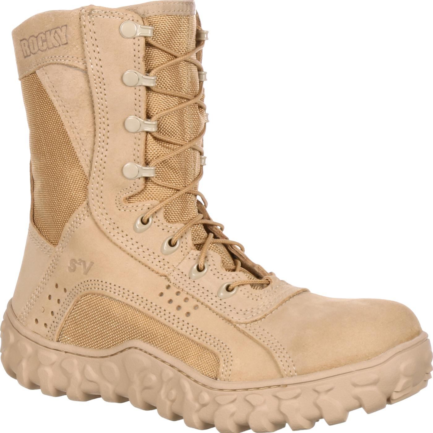 8ea658e7dabf Rocky S2V Steel Toe Tactical Military Boot