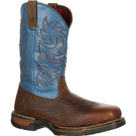 Rocky Long Range Carbon Fiber Toe Waterproof Western Boot, , large