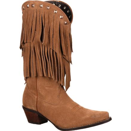 Crush by Durango Women's Fringe Western Boot, , large