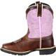 Lil' Durango Little Kids' Lavender Pull-On Western Boot, , small