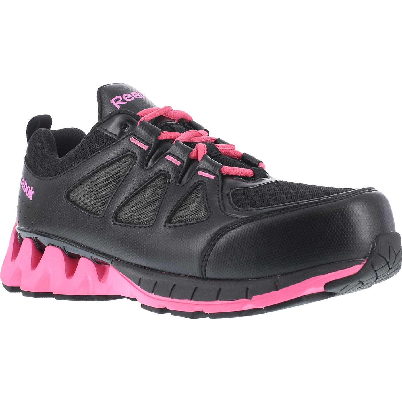 1fe037e8696 Reebok Zigkick Work Women s Composite Toe Work Athletic Oxford