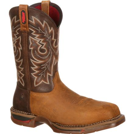 Rocky Long Range Carbon Fiber Toe Western Boot